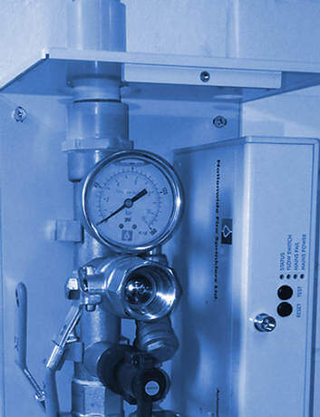 A-TACS fire sprinkler monitoring unit
