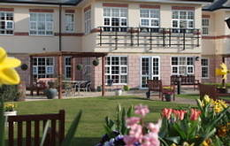 sprinkler systems in a care home