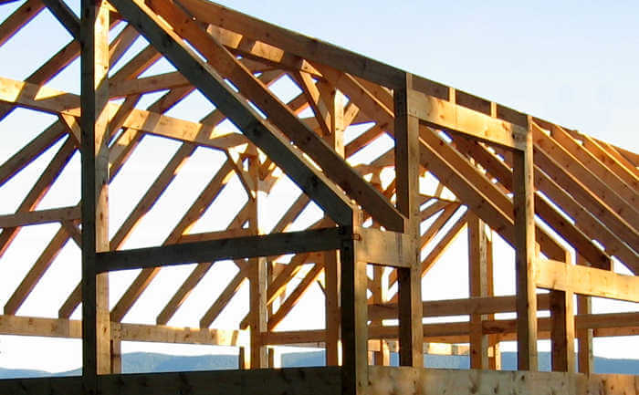 timber framed site protection