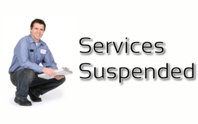 Services Suspended