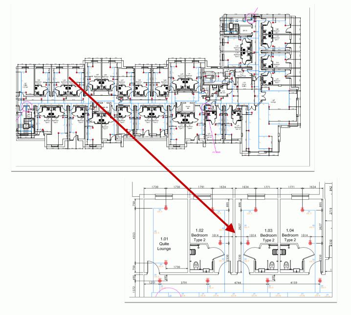 water mist system plan